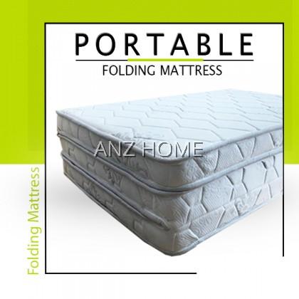 Folding Mattress Single / 3 Fold Mattress / Tilam Lipat Bujang